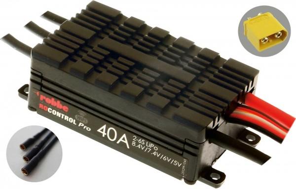 RO-CONTROL PRO WIFI 2-6S 40A HV-BEC XT-60 / 3,5mm Goldkontaktbuchsen