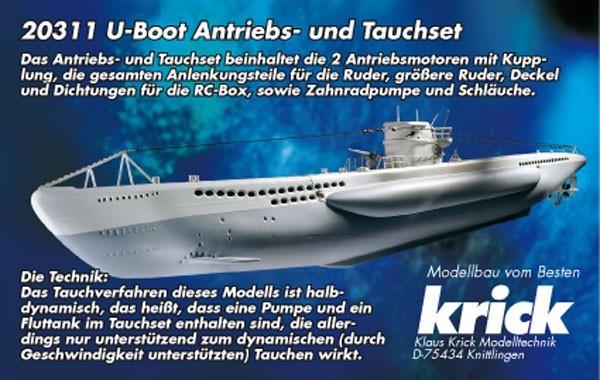 U-Boot Antriebs- und Tauchset