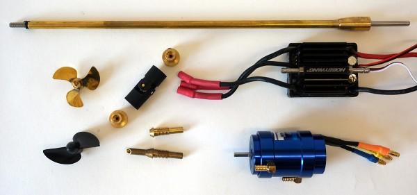 Antriebsset Chris Craft Modelle Brushless