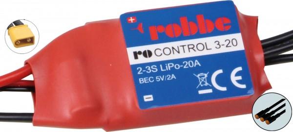 RO-CONTROL 3-20 2-3S -20(25)A 5V/2A BEC