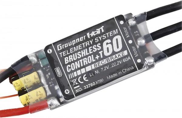 BRUSHLESS CONTROL+ T 60 BEC G2 XT-60