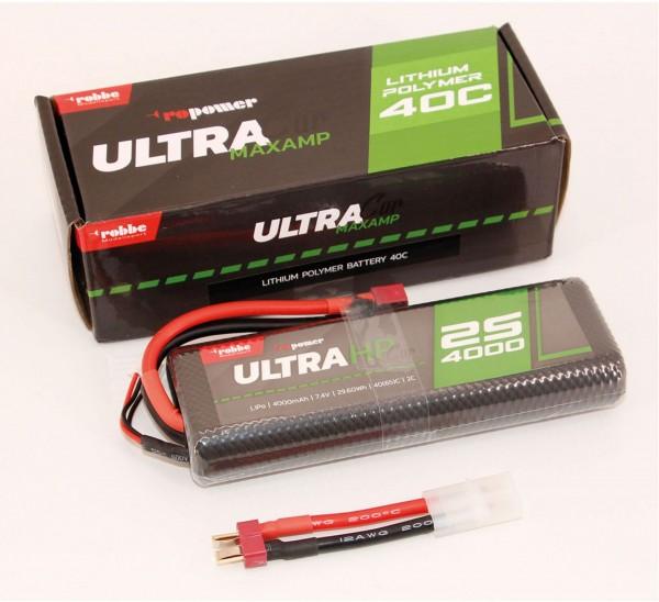 Ro Power Ultra HP Car 2S 4000mAh Lipo Akku
