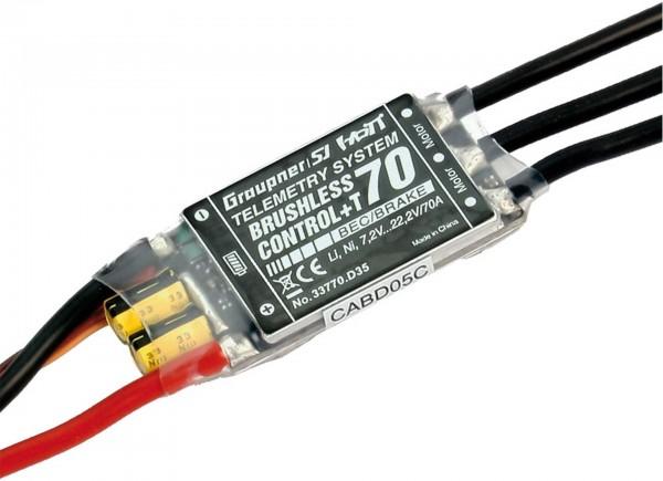 BRUSHLESS CONTROL+ T 70 BEC XT-60 2-6S